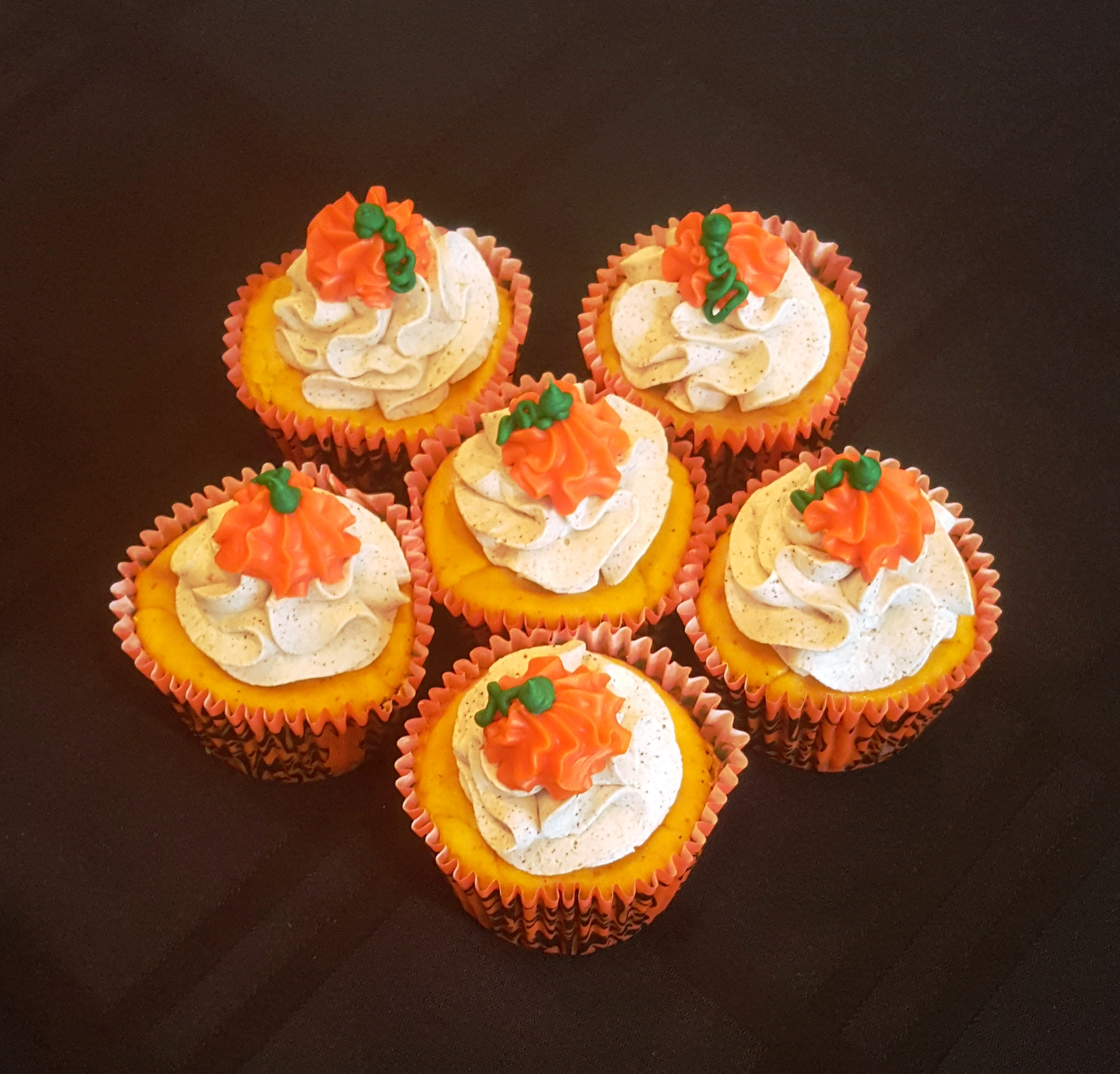mini pumpkin cheesecakes 2015