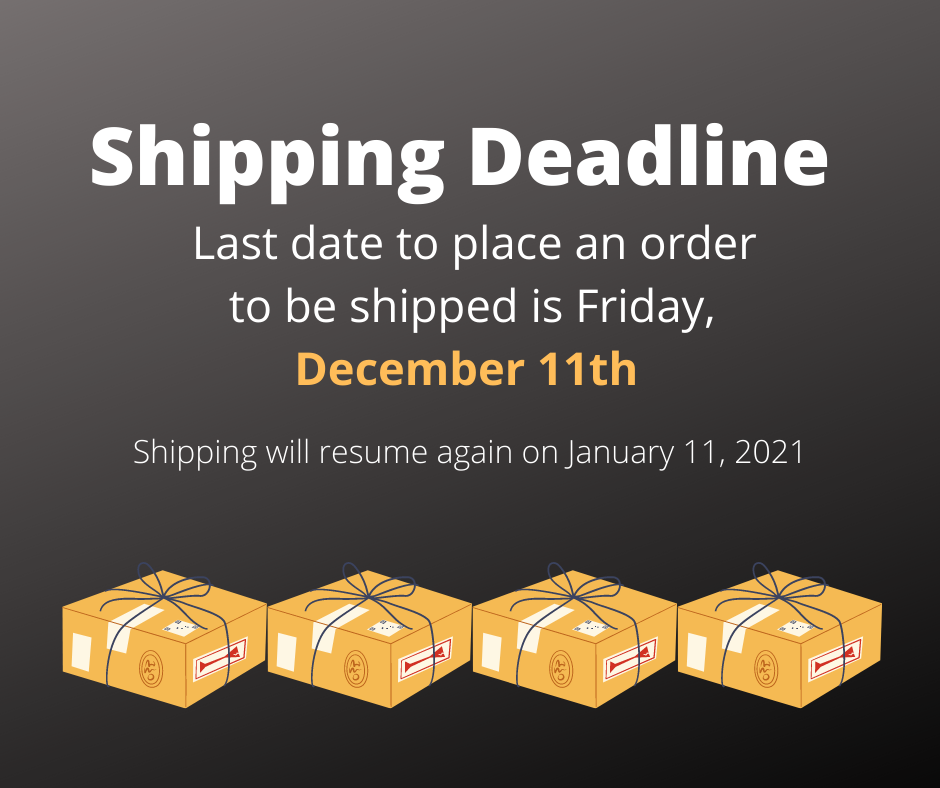 Sweet Ali's Shipping Resumes 1/11/21