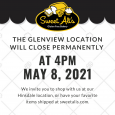 Glenview Bakery Location to Close 5/8