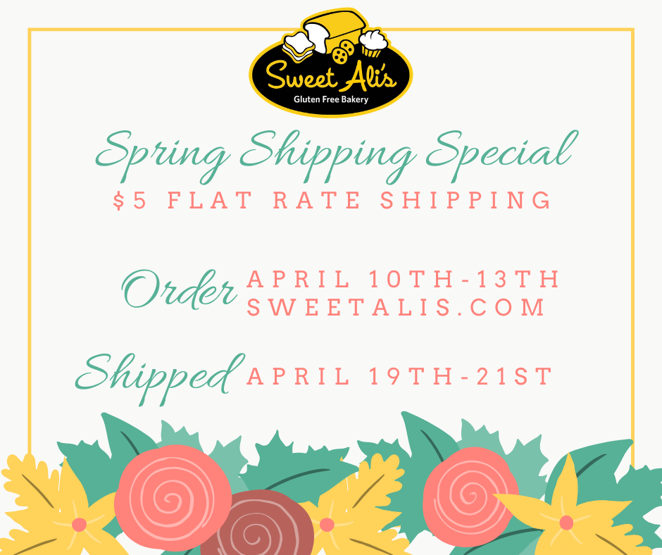 $5 Shipping is BACK – extended through 4/14!