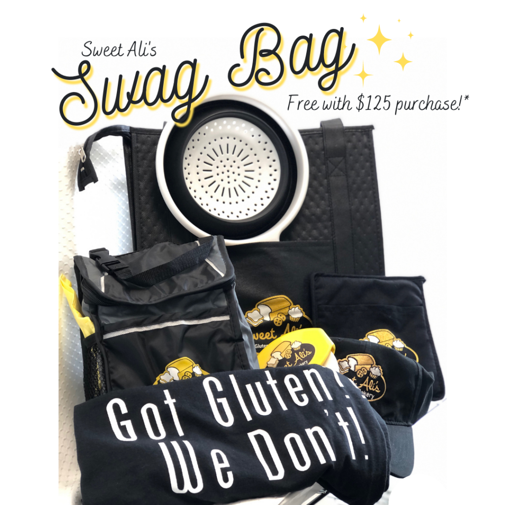 Sweet Ali's FREE Swag in August